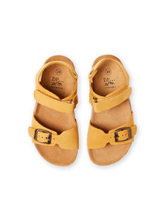 Sandalias amarillas para niño LGNUJAUNE / 21KK3659D0E010