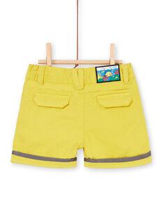 Camiseta amarilla para bebé niño LUVIBER2 / 21SG10U3BERB115