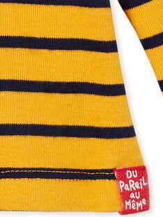 Jersey fino de color amarillo KUJOSOUP1 / 20WG1042SPLB106