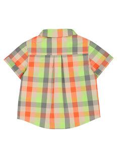 Camisa de cuadros para bebé niño FUYECHEM / 19SG10M1CHM099