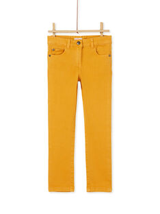 Yellow PANTS KAJOPANT1 / 20W90134D2B107