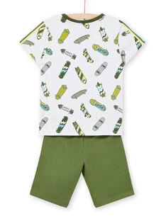Pijama de color gris jaspeado, para niño LEGOPYCSPOR / 21SH12CAPYJJ920