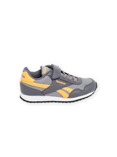 Zapatillas Reebok grises con detalles amarillos para niño MOG58315 / 21XK3643D36940