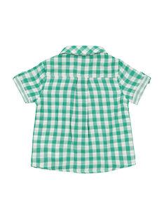 Camisa de cuadros para bebé niño FUCACHEM / 19SG10D1CHM099