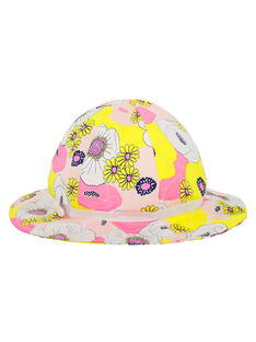 Sombrero estampado para niña FYAPOHAT1 / 19SI01C1CHA099