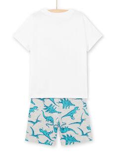 Conjunto de playa de color blanco, para niño LOPLAENS5 / 21S902T4ENS000