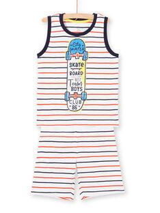 Pijama de rayas para niño LEGOPYCSKA / 21SH12C9PYJ000