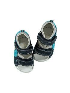 Sandalias de piel para bebé niño FBGSANDMA / 19SK38K4D0E070