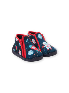 Zapatillas de color azul marino, para bebé niño KBGBOTCOSM / 20XK3811D0A070