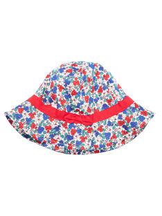 Sombrero con estampado floral para niña JYAJAHAT2 / 20SI01B2CHA001