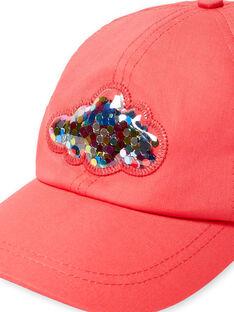 Gorra roja para niña LYAHACAP / 21SI01X1CHAF506