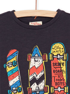 Camiseta negra y roja - Niño LOPOETI2 / 21S902Y1TMCJ900