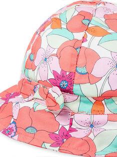 Gorro bob con estampado floral de colores, para bebé niña LYIVICHA / 21SI09U1CHA000