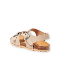 Sandalias de color beige para niño LGNUBEIGE / 21KK3653D0E080