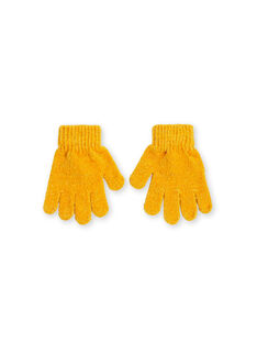 Yellow GLOVES KYAGOGAN / 20WI01L1GAN107