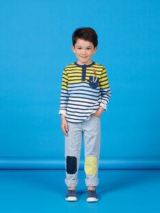 Pantalón de rayas para niño LONAUPAN / 21S902P1PAN070