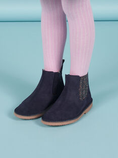 Boots de color azul marino para niña MABOOTMAR / 21XK3574D0D070