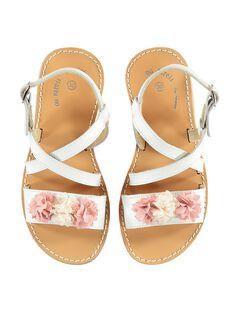 Sandalias de color blanco JFSANDLINE / 20SK35Z5D0E000