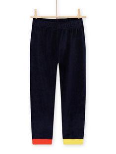 Pijama con estampado de animales de terciopelo para niño MEGOPYJRAY / 21WH1291PYJ705