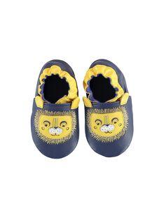 Zapatillas de casa de color azul marino JNGLION / 20SK38Y1D3S070