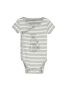 Body de manga corta para bebé unisex FOU1BOD6 / 19SF7716BOD099