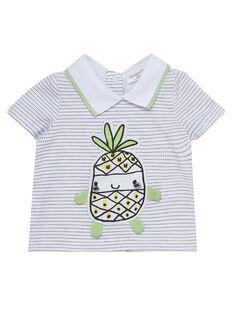Camiseta de manga corta de color blanco JOU2TI1 / 20SF04M1TMC000