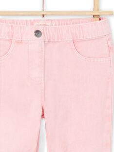 Jeggings de color rosa para niña MAJOJEG3 / 21W90112PAN309