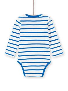Body de manga larga de rayas con perrito marinero para bebé niño LEGABODOG / 21SH142ABDL001