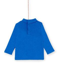Blue ROLL-NECK KUSASOUP / 20WG10O1SPLC226