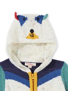 Cárdigan tricotado colorblock para bebé niño KULUGIL1 / 20WG10P1GIL001