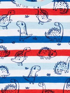 Camiseta de rayas de manga corta para bebé niño LUCANTI / 21SG10M1TMC000