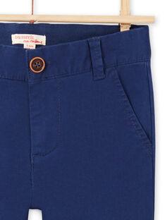 Pantalón azul marino para niño MOESPACHI1 / 21W902E2PAN070