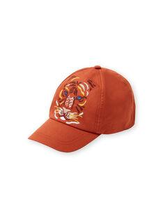 Gorra naranja con estampado de león para niño LYOTERCAP / 21SI02V1CHAF519