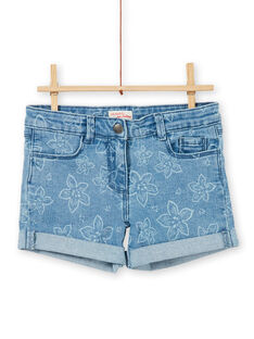 Short con 5 bolsillos con estampado floral LAJOSHORT2 / 21S90142D30P272