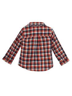 Camisa de cuadros para bebé niño JUVICHEM / 20SG10D1CHM001