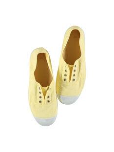 Tenis de lona bordada para niña FFTENBROD2 / 19SK35B5D16010