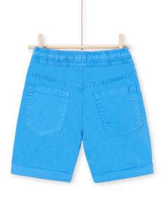 Bermudas azules para niño LOJOBERMU1 / 21S902F6BERC209