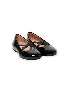 Bailarinas de color negro con brillo para niña MABALLERINEN / 21XK3552D41090