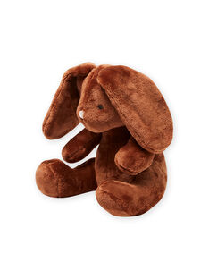 Conejo de peluche marrón para recién nacido unisex MOU1DOU3 / 21WF4244JOUI810