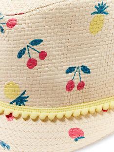 Sombrero de rafia para niña LYAMERHAT / 21SI01D1CHA116