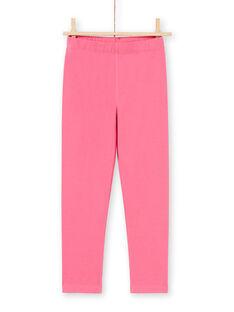 Conjunto de pijama de camisón y leggings de color azul marino y rosa para niña MEFACHUCAT / 21WH1181CHN070