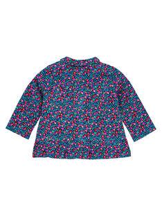 Camisa Azul marino Du Pareil Au Meme GIMUCHEM / 19WG09F1CHE070