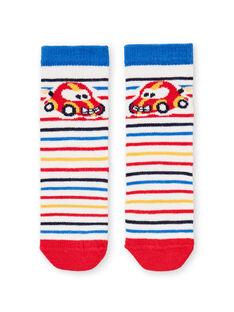 Calcetines de rayas para bebé niño LYUHACHO1 / 21SI10X1SOQ001