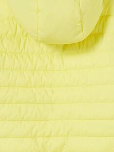 Cazadora reversible con capucha de color amarillo y azul para niño LOGROBLOU2 / 21S902R4BLO070