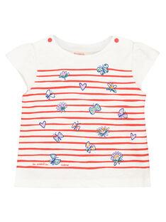 Camiseta estampada de manga corta para bebé niña FITOTI2 / 19SG09L2TMC000