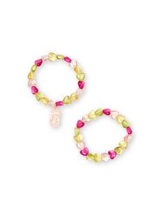 Pack de 2 pulseras para niña LYAJAUBRA / 21SI0171BRC116