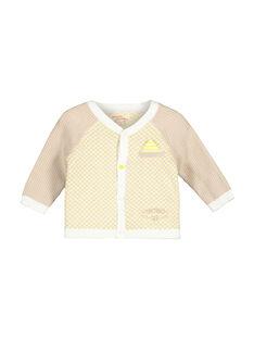 Cárdigan de punto para bebé niño FUPOGIL / 19SG10C1GIL099