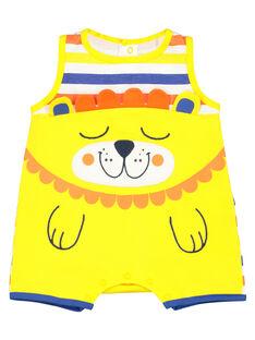 Pelele corto para bebé niño FEGAGRERAY / 19SH14H6GRE099