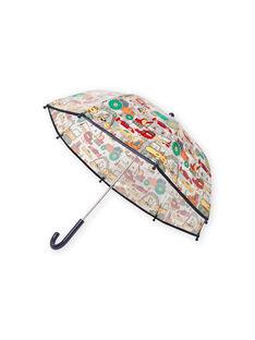 Paraguas transparente con estampado de fantasía para niño MYOCLAPARA / 21WI02G1PUI961