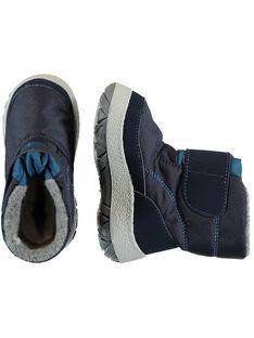 Botas apreski de color azul marino para niño GBGMONTMEP / 19WK38W2D3N070